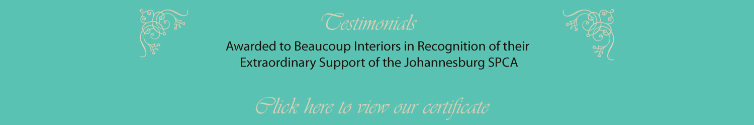 beaucoup interiors Johannesburg