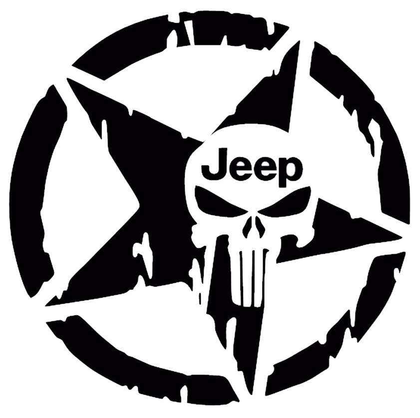 star-scull-jeep-decal